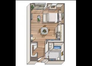 Studio - Adriano Floorplan